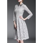 Beading Lace Dress and Cami Solid Color Tank Top deal