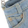 Stylish Short Jeans Shape and Stitching Design Shoulder Bag For Women for sale