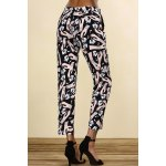 cheap Mid-Waisted Printed Pants