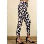 Mid-Waisted Printed Pants deal