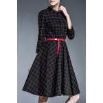 Belted Checked Shirt Dress deal