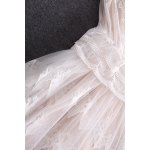 best Keyhole Neck Tulle Dress Twinset