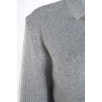 Casual Long Sleeves Color Block Cardigan For Women for sale