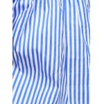 best Chic Women's Off The Shoulder Pinstriped Blouse