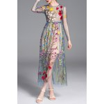 Camisole Dress and Flower Embroidery Dress Twinset deal