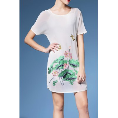 Mini Lotus Pond Dress