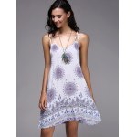 cheap Bohemian Strappy Backless Dress For Women