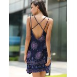 Bohemian Strappy Backless Dress For Women deal
