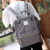 cheap Leisure Zips and Canvas Design Backpack For Men