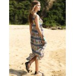 best Elegant Colorful Animal Print Long Dress For Women
