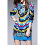 Colorful Printed Mini Dress deal