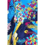 Colorful Printed Mini Dress for sale