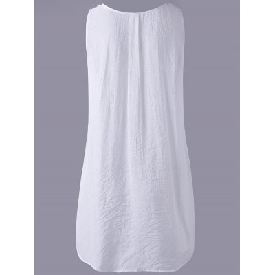 Fashionable Hollow Out Lace V-Neck Top For WomenTank Tops<br>Fashionable Hollow Out Lace V-Neck Top For Women<br><br>Material: Polyester<br>Clothing Length: Long<br>Sleeve Length: Sleeveless<br>Collar: V-Neck<br>Style: Active<br>Season: Summer<br>Pattern Type: Solid<br>Weight: 0.270kg<br>Package Contents: 1 x Top