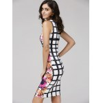 Bodycon Floral Bandage Dress deal