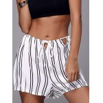 Chic Women's Striped Loose Shorts