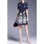 Perspective Floral Embroidery Dress and Cami Tank Top deal