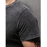 best Letter Printing Men's Pullover Round Collar Short Sleeves T-Shirt