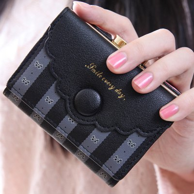 Bow Pattern Design Wallet For Women