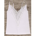 Stylish Cami Lace Splice Women's Tank Top for sale