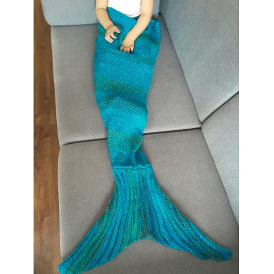 Fashion Stripe Knitted Mermaid Tail Design Blanket For KidsBedding<br>Fashion Stripe Knitted Mermaid Tail Design Blanket For Kids<br><br>Material: Cotton<br>Package Contents: 1 x Blanket<br>Pattern Type: Stripe<br>Size(L*W)(CM): 105*80CM<br>Type: Knitted<br>Weight: 0.4500kg