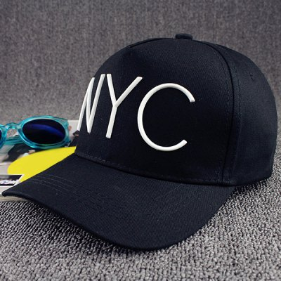 Trendy Capital Letter Shape Embellished Hip Hop Baseball Cap