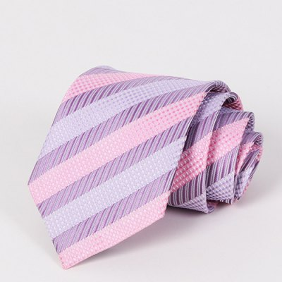 Various Twill Jacquard Mild Color Tie For Men