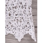 Women's Refreshing Halter Laced Crop Top photo