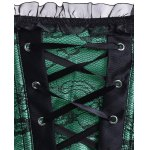 Vintage Strapless Slimming Lace-Up Corset For Women for sale