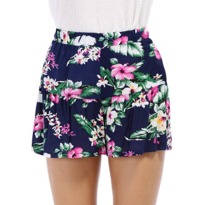 Fashionable Elastic Waist Floral Print Womens ShortsShorts<br>Fashionable Elastic Waist Floral Print Womens Shorts<br><br>Style: Casual<br>Length: Mini<br>Material: Polyester<br>Fit Type: Regular<br>Waist Type: High<br>Closure Type: Elastic Waist<br>Front Style: Flat<br>Pattern Type: Floral<br>Weight: 0.420kg<br>Package Contents: 1 x Shorts