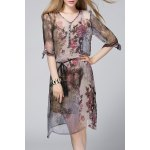 Buy Camisole Dress Printed Twinset M COLORMIX