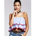 cheap Striped Layered Cami Tank Top