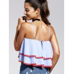 Striped Layered Cami Tank Top for sale