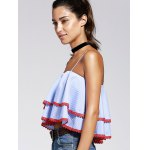 Striped Layered Cami Tank Top deal