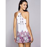 Stylish Strappy Geometrical Dress For Women for sale