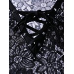 Chic Women's Lace See-Through Cover-Up for sale