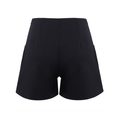 Slimming High-Waisted A-line Shorts For Women