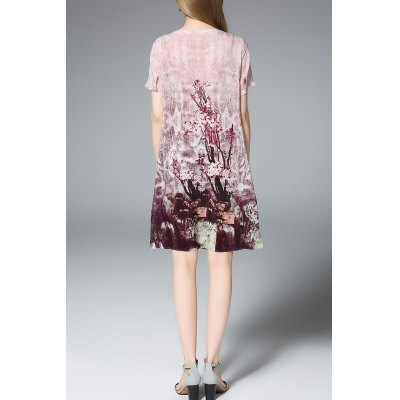 Short Sleeve Printed Silk Shift DressDesigner Dresses<br>Short Sleeve Printed Silk Shift Dress<br><br>Style: Brief<br>Occasion: Casual,Day,Night Out,Work<br>Material: Silk<br>Composition: 100% Silk<br>Silhouette: A-Line<br>Dresses Length: Knee-Length<br>Neckline: Round Collar<br>Sleeve Length: Short Sleeves<br>Pattern Type: Print<br>With Belt: No<br>Season: Summer<br>Weight: 0.320kg<br>Package Contents: 1 x Dress