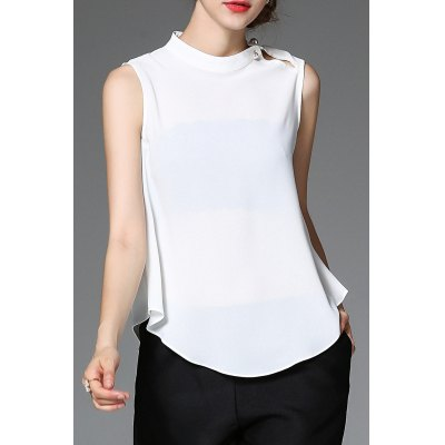 Loose Pure Color Tank Top