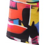 best Slimming Color Printing Round Collar Short Sleeves T-Shirts For Men