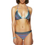 Chic Women's Halter Backless Print Bikini