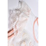 Frilled Lace Patchwork Prom Dress for sale