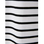 Casual Scoop Neck Long Sleeves Striped Dress For Women photo