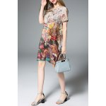 Loose Fit Hand-Painted Silk Dress deal