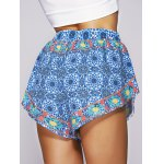 Bohemian Style Women's Ethnic Print Shorts for sale