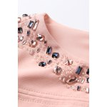 Short Sleeve Jewelled Bodycon Dress deal