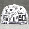 cheap Chic Multielements Scrawl Pattern College Style Baseball Cap For Women