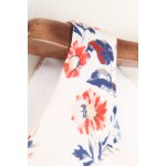 Round Neck Sleeveless Printed Bowknot Dress for sale