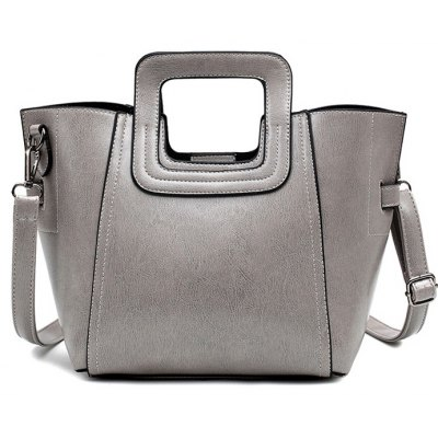 Solid Colour Design Tote Bag For Women