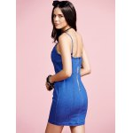 Stylish Cami Blue Denim Women's Bodycon Dress for sale