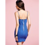 best Stylish Cami Blue Denim Women's Bodycon Dress